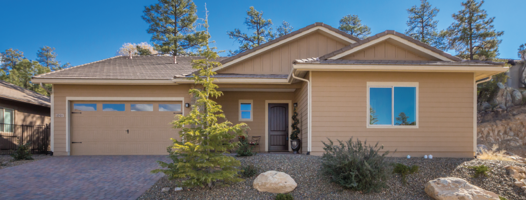 <blockquote><h3>The Ridge at Iron Springs</h3>Located in scenic Forest Trails just minutes from historic downtown Prescott.</blockquote>
